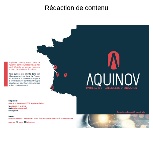 exemple rédaction de contenu aquinov