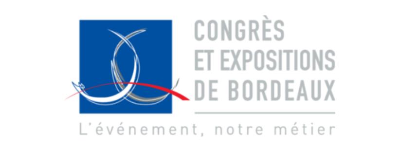 logo congrès et expositions de bordeaux
