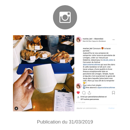 publication instagram marion bel