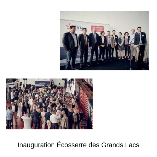 photo inauguration écoserres des grands lacs