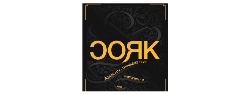 étiquette vin Cork avec logo
