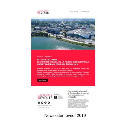 Newsletter Bordeaux Events février 2019