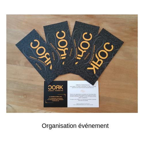 visuel invitation soirée de lancement Cork