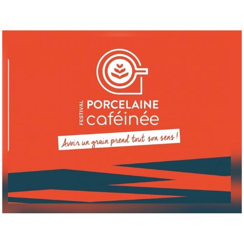 logo festival porcelaine caféinée